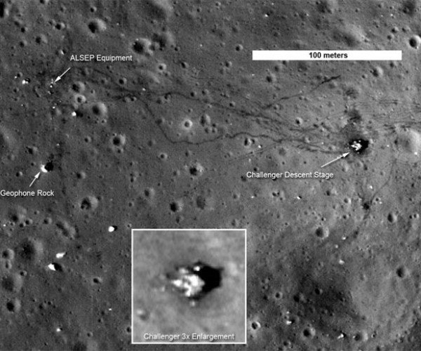 Should SETI Start Searching for Alien Evidence on the Moon?