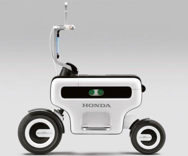 "Honda Motor Compo Scooter Screams ""I'm Geekier Than You, Segway Guy!"""