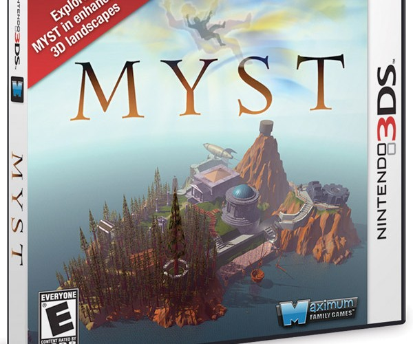 Myst Coming to Nintendo 3DS in March