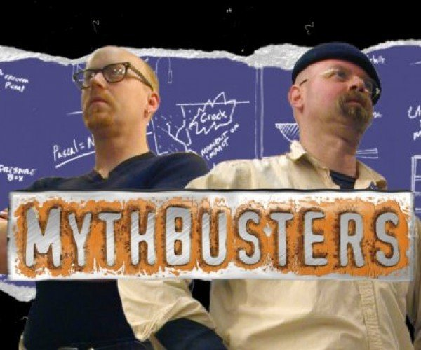 Myth Confirmed: Mythbusters Shoot Cannonball Through Home