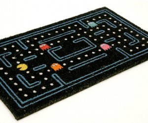 Pac-Man Doormat Lets You Walk All Over Those Pesky Ghosts
