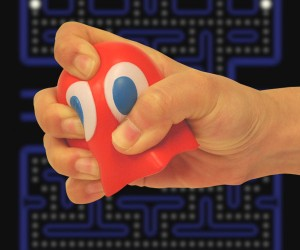 Pac-Man Stress Balls: Squash Some Ghosts and Chill Out