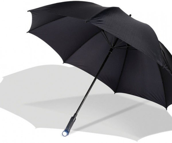 Path Illuminating Umbrella: for Dark and Stormy Nights