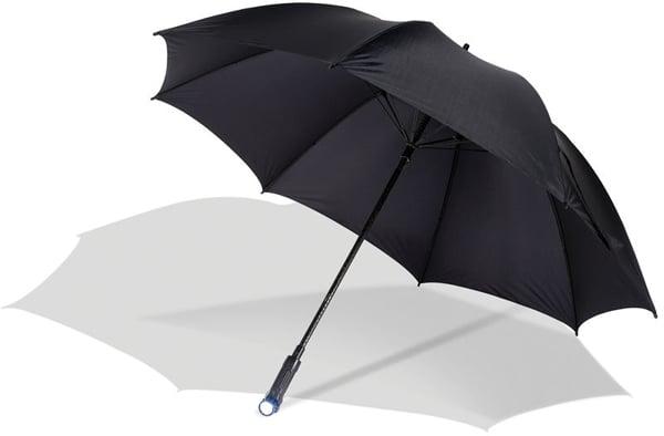 path illuminating umbrella