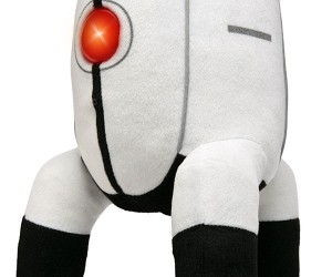 Talking Portal 2 Plush Turret Doesn't Hate You, Just Wants Your Hugs