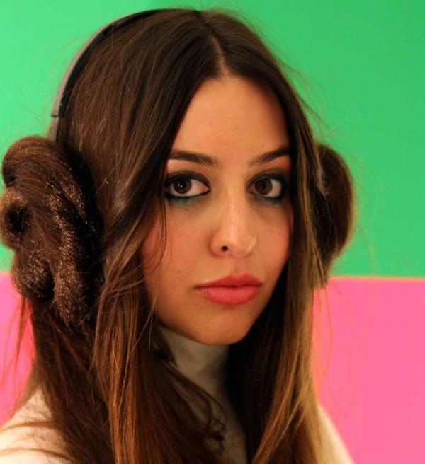 princess leia headphone covers by jacquielonglegs
