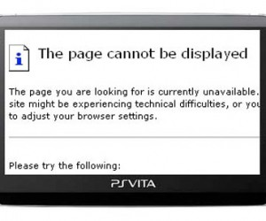 PS Vita Multitasking Limitation: No Web Browsing During Games