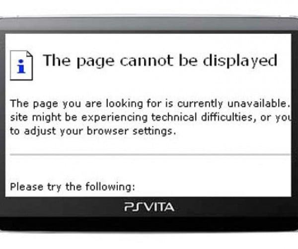 PS Vita Multitasking Limitation: No Web Browsing During Games