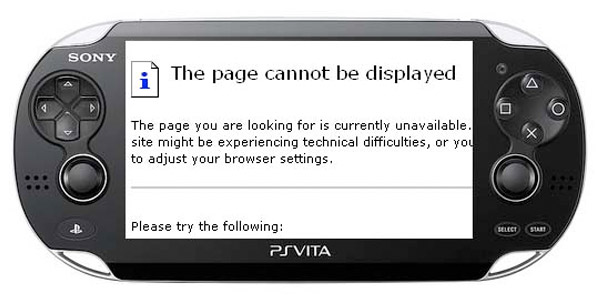 ps vita broken browser