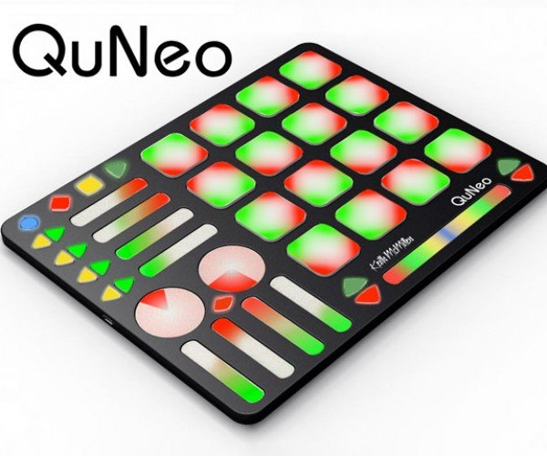 QuNeo Multitouch Controller Looks Like a Game-Changer for Electronic Music
