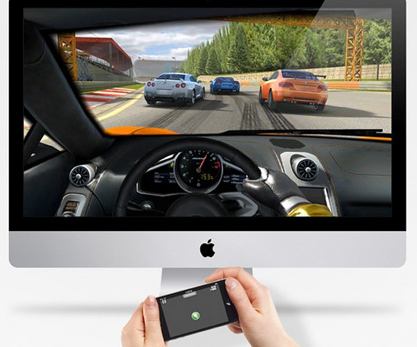 Real Racing 2 for OS X Gets iPhone Steering, Costs 13x More Than iOS Version