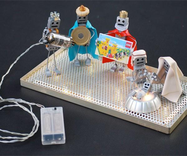 Robot Nativity Scene: The First Robo-Noël