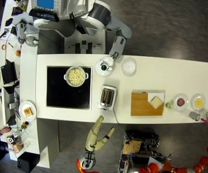 Robots Pop Popcorn and Fix a Sandwich