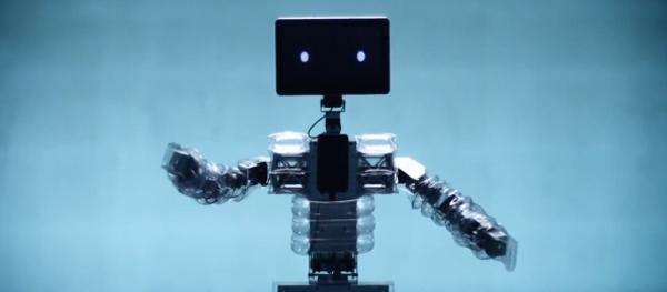 samsung christmas hugs galaxy tablet hug chan robot