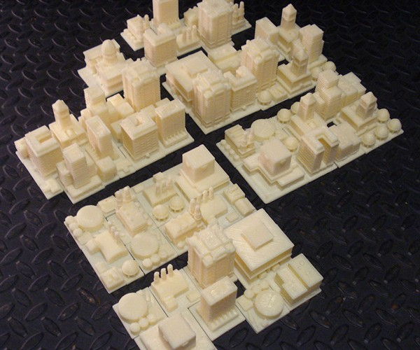Play SimCity in Actual 3D with the DIY Tabletop Play Set