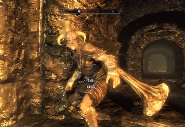 Skyrim Giant's Club Glitch Sends Followers to Beast Mode