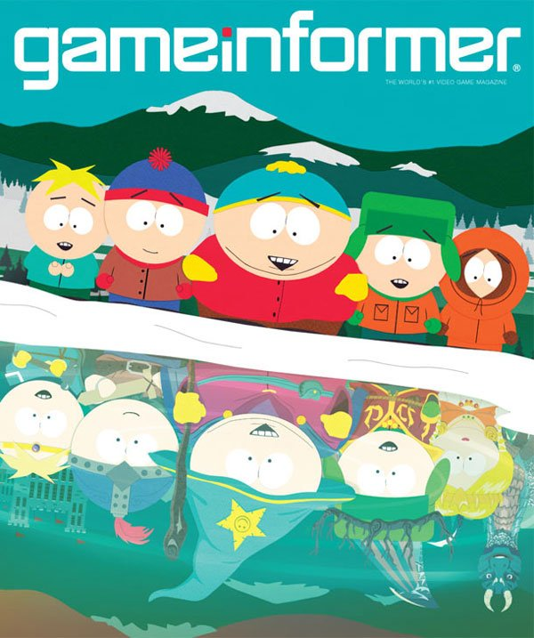 south park the game game informer cover