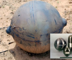 Mysterious Space Ball in Namibia is a Pressure Vessel