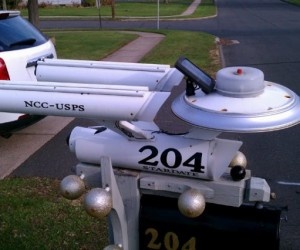 Star Trek Mailbox: to Boldly Go Where No Junk Mail Has Gone Before