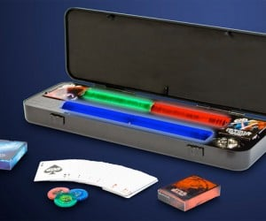 Star Wars Poker Set: Persons Using The Force Will be Removed from the Casino