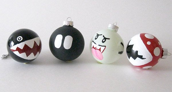 super mario enemy ornaments