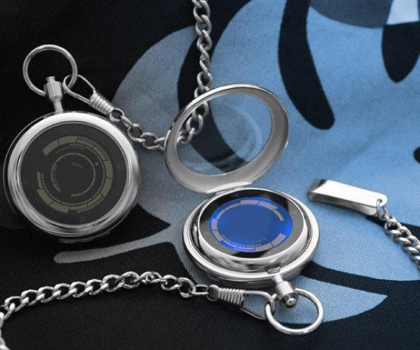 Tokyoflash Kisai Rogue Touch Pocket Watch: For All You Dapper Gents and Dames