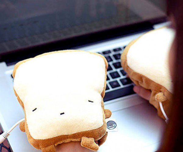 USB Toast Handwarmers Might Leave Butter and Jam on Your Keys
