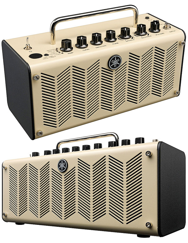 Yamaha thr portable amps let you jam in retro style for Yamaha thr10 pedals