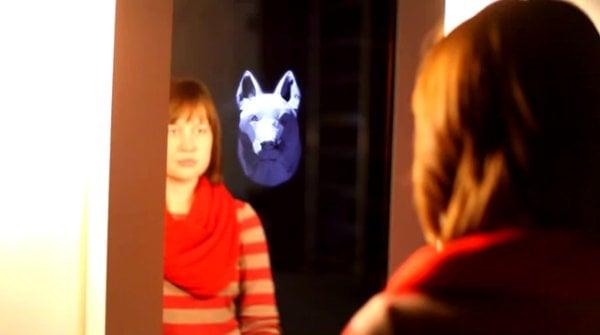 3D Mirror Animal Mask