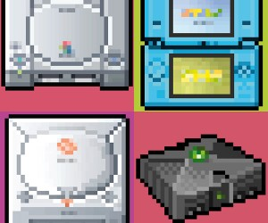 8-Bit Series Game Console Posters: As Seen From the Eyes of Grandpa NES