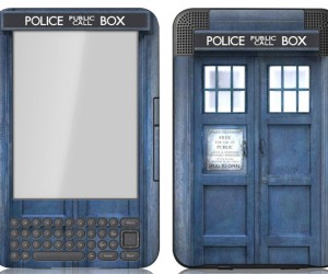 TARDIS Gadget Skins: Doctor Who Approves