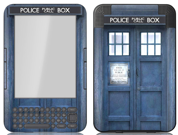 amazon kindle ipad skin cover doctor who iphone