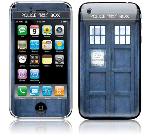 Amazon Kindle TARDIS Doctor Who Cover 02