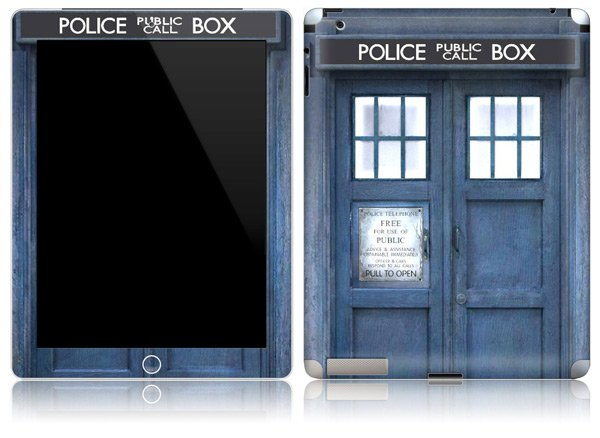 Amazon Kindle TARDIS Doctor Who Cover 03