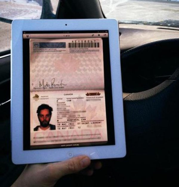 apple ipad passport ios digital document usa canada
