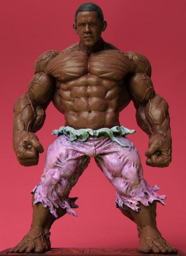 Barack Obama Incredible Hulk