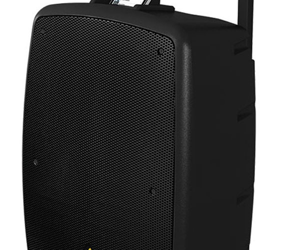 Behringer Backyard Blaster Suitcase Dock: Boombox on Wheels