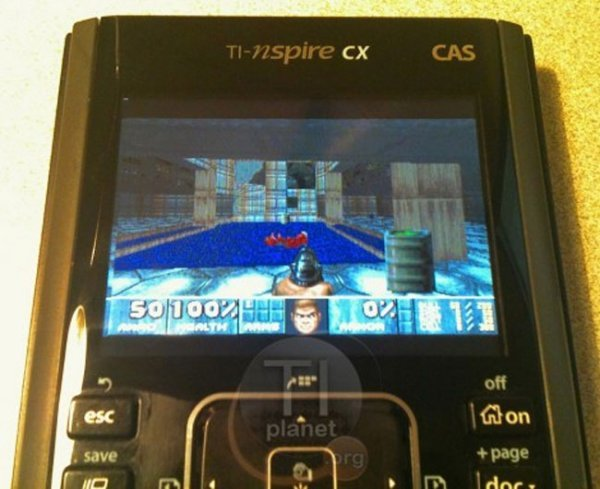 DOOM on TI-nspire CX