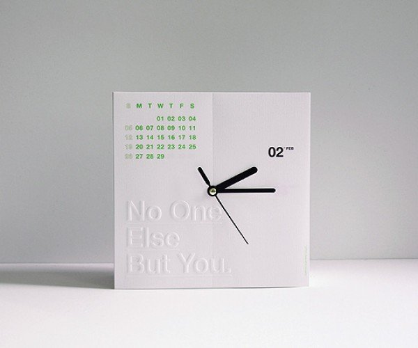It's a Clock, It's a Calendar – No, It's the CalenClock!