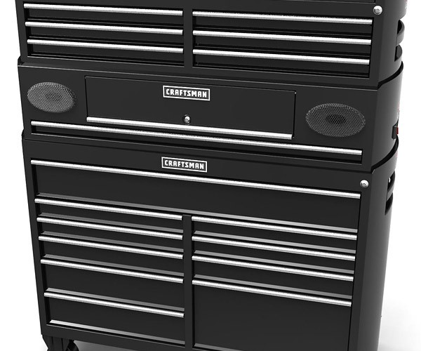 Craftsman Tool Cabinet Has Built-in Speakers: No Modding Required
