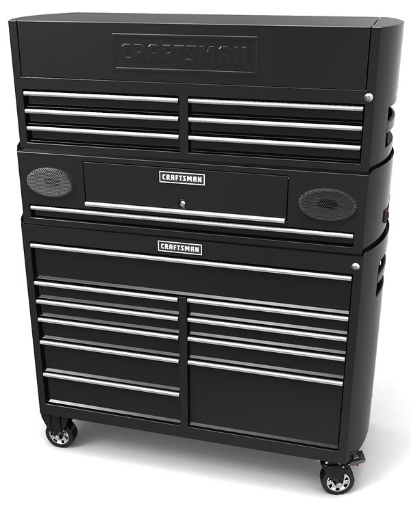 Craftsman Contour Powered Series Tool Storage1