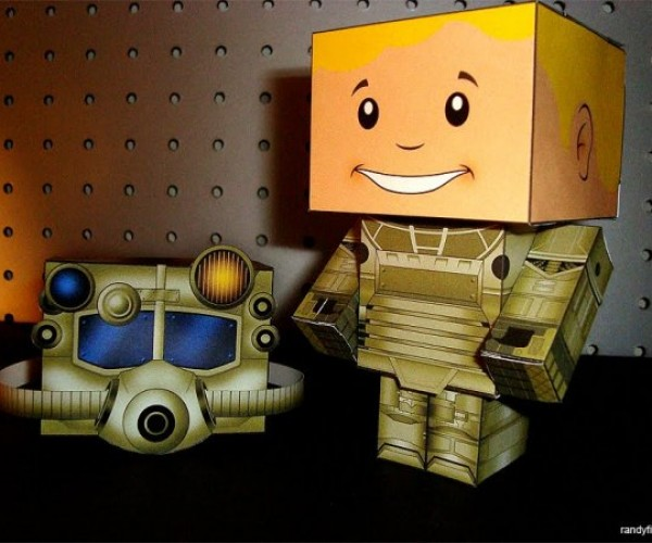Voltron and Fallout Get the Papercraft Treatment
