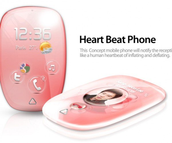 Heartbeat Mobile Phone Concept Is Mostly Heart, Still Needs More Brains