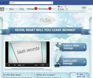 """If I Die"" Facebook App Lets You Post One Last Message From Your Grave"