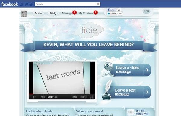 If I Die Facebook