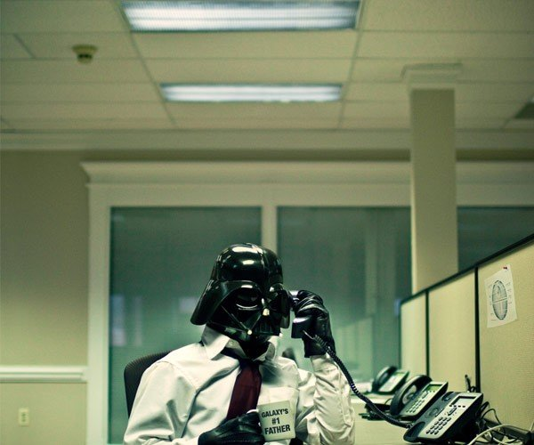 Darth Vader's Day at the Office