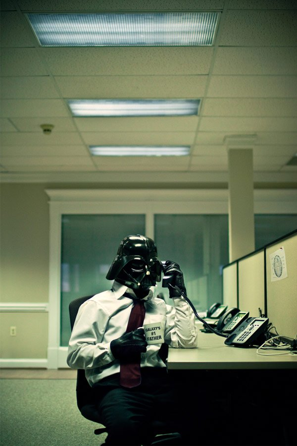 jim alley darth vader office star wars