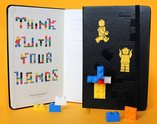 Lego Moleskine 1