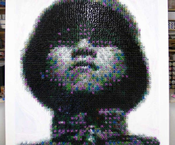 5,500 Toy Soldiers Make Portrait, Not Toy Armageddon