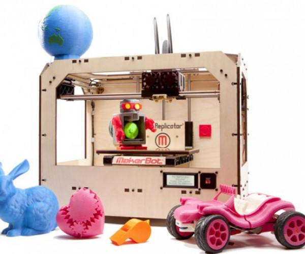 MakerBot Replicator: Out of Star Trek into Your Own Garage!